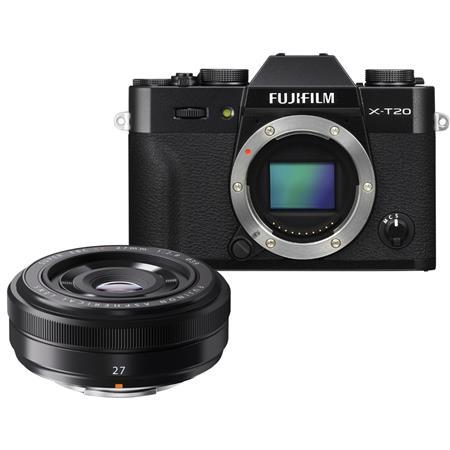 68996f383 Fujifilm X-T20 Câmera Mirrorless com Lente 27mm f/2.8 - Câmera ...