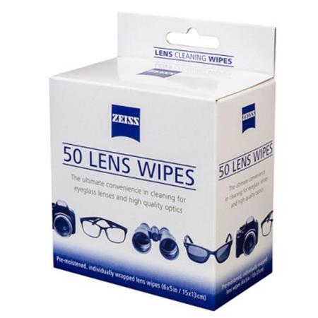 ba7b9acc34408 Lens Wipes Zeiss com 50 lencos umedecidos - Lens Wipes Zeiss com 50 ...