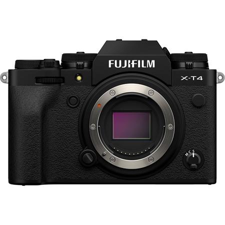 Câmera Digital Fujifilm Mirrorless Corpo Preto 26.0mp - X-t4